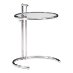Zuo Modern Eileen Grey Table Chrome