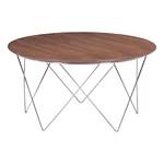 Zuo Modern Macho Coffee Table Walnut