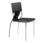 Zuo Modern Trafico Dining Chair Black