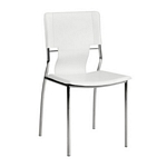 Zuo Modern Trafico Dining Chair White