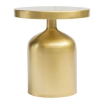 Zuo Modern Kendal Accent Table Brass