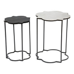 Zuo Modern Brighton Accent Table Black & White
