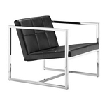 Zuo Modern Carbon Chair Black