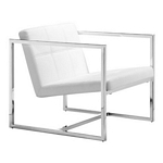 Zuo Modern Carbon Chair White