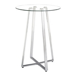 Zuo Modern Lemon Drop Bar Table Chrome