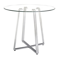 Zuo Modern Lemon Drop Counter Table Chrome