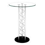 Zuo Modern Chardonnay Bar Table Chrome