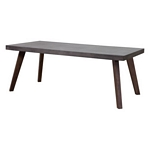 Zuo Modern Son Dining Table Cement & Natural
