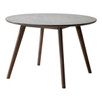 Zuo Modern Elite Dining Table Cement & Natural