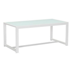 Zuo Modern Golden Beach Coffee Table White