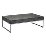Zuo Modern Malibu Coffee Table Brown & Silver