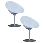 Fine Mod Imports Eco Flatbase Dining Chair Set Of 2