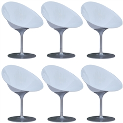Fine Mod Imports Eco Flatbase Dining Chair Set Of 6