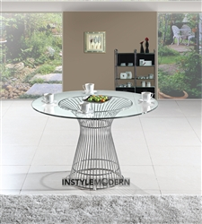 Fine Mod Imports Platner Libo Dining Table 36""