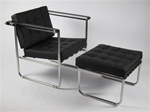 Fine Mod Imports Celona Set Chair and Ottoman