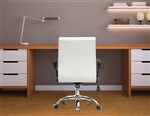 Fine Mod Imports Timeless Office Chair In White