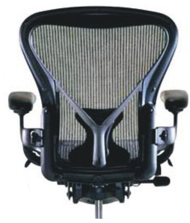 Herman Miller Aeron Chair Size B Fully Featured In Black Refurbished