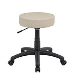 The DOT stool, Beige Vinyl
