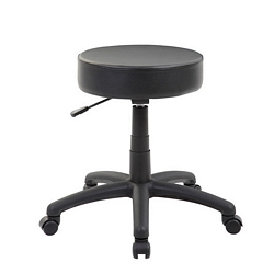 The DOT stool, Black Vinyl