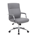 Boss Modern Executive Conference Chair - Grey
