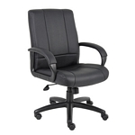 Boss Caressoft Executive Mid Back Chair