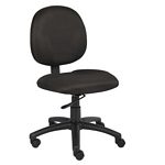 Boss Diamond Task Chair In Black