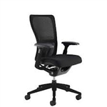 Haworth Zody Chair Fully Featured Model Refurbished In Black