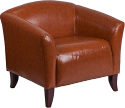 Flash Furniture Imperial Series Cognac Leather Chair