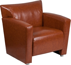 Flash Furniture Majesty Series Cognac Leather Chair