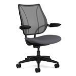 Humanscale Liberty Chair Model In Black Fabric