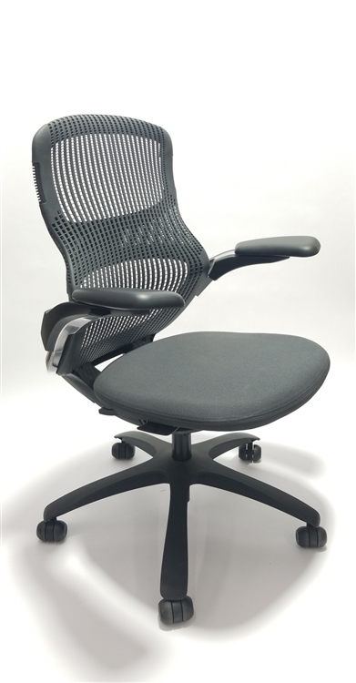 Knoll Life Chair Fully Adjustable Model In Mesh Back Refurbished