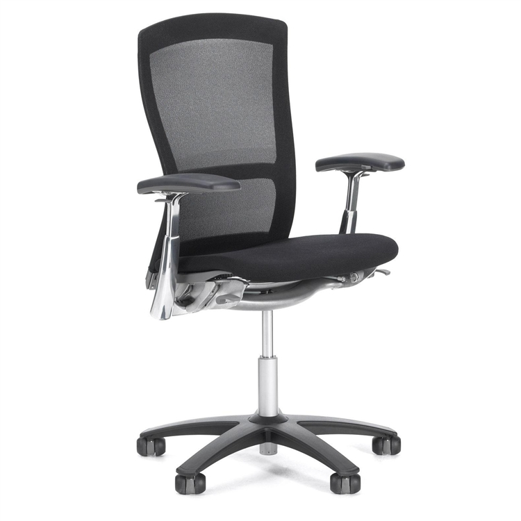 Fully Adjustable Office Chair knoll life chair fully adjustable model in mesh back refurbished
