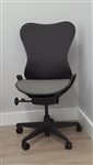 Herman Miller Mirra Chair NO ARMS In Black Latitude Back Refurbished