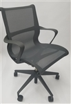 Herman Miller Setu Chair In Dark Gray Color