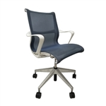 Herman Miller Setu Chair Berry Blue