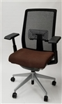 Haworth Very Chair Gray Mesh Back Fully Adjustable Model