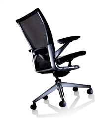 Haworth X99 Chair Fully Featured Model Refurbished In Black