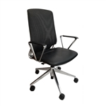 Vitra Meda Office Task Chair with Mesh Backrest