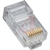 Platinum Tools Standard CAT5e High Performance RJ45 Connectors 25/clamshell 3-prong