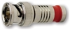 Platinum Tools BNC RG59 Compression, Nickel 6/Clamshell