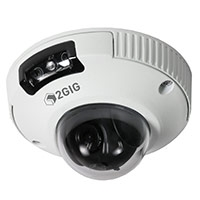 2GIG: 2GIG-CAM-250P Indoor/Outdoor Mini Dome HD Camera