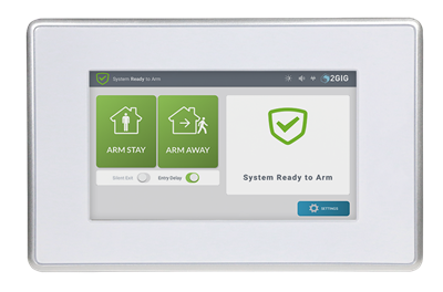 2GIG: 2GIG-SP2-GC3 Wireless Secondary Security Touch Screen for GC3 -- The Next Generation Security & Control Platform