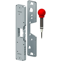 Trine, 4850-ITL, 4850, electric strike, surface mounted, panic device, crash bar, electronic strike, pullman latch, axion, 4800 series.