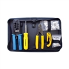 Platinum Tools, 90109, All-In-One, Modular Plug, Tool Kit, Zip Case,