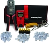 platinum tools EXO cat5 cat5e cat6 The ezEX-RJ45 ezEX mini Termination and Test Kit 90147