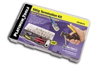 Platinum Tools, 90170, 10Gig, Termination Kit, Cat6E, Cat6A, Cat7,