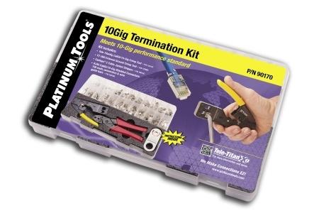 Elektrische en testapparatuur Platinum Tools 12515 Tele-Titan XG Crimp Tool Box Professionele uitruisting