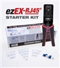 platinum tools ezEX Starter Kit P/N 90188 cat5 cat5e cat6 The ezEX-RJ45 Termination & Test Kit  90148