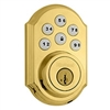 2GIG: 2GIG-Z-PBD Z-Wave Kwikset Door Lock (Polished Brass Deadbolt)