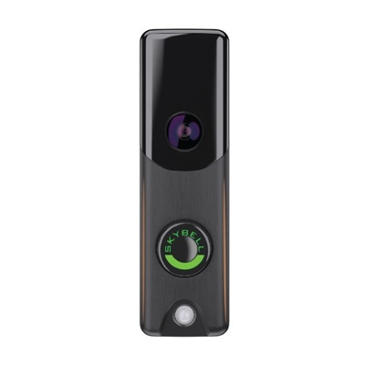 Bronze SkyBell ADC-VDB106 Wi-Fi video doorbell SkyBell,  Wi-Fi video doorbell, video camera, speaker, microphone, motion sensor. See, Hear, Speak, iOS, Android, devices, Slim Line, Trim Plus +, Alarm.com, ADC-VDB105, ADC-VDB106,